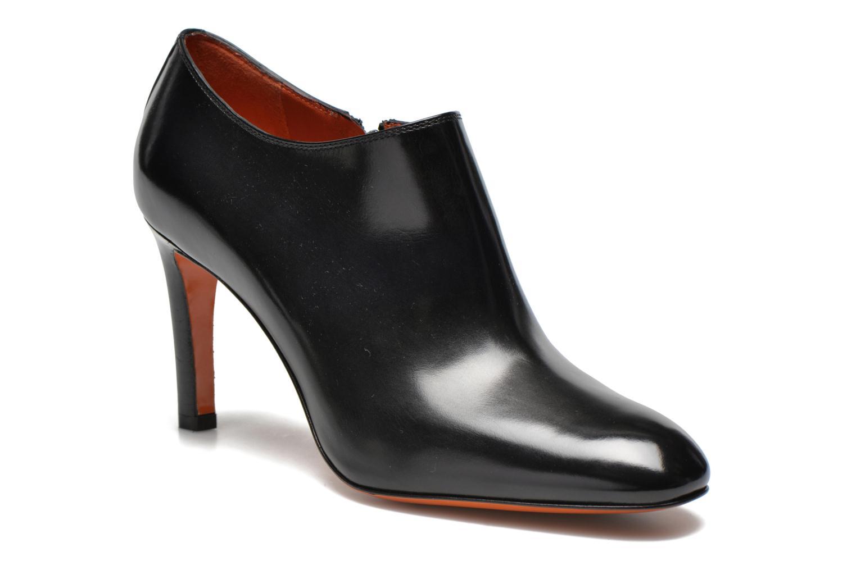 Bottines et boots Santoni Moss 53395 Noir vue détail/paire