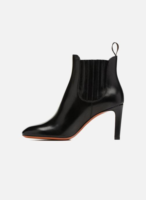 Bottines et boots Santoni Moss 54079 Noir vue face