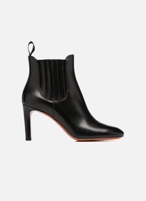 Bottines et boots Santoni Moss 54079 Noir vue derrière