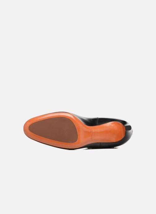 Botines  Santoni Moss 54079 Negro vista de arriba