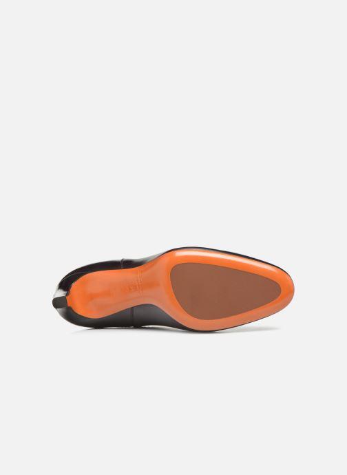 Botines  Santoni Moss 54079 Violeta      vista de arriba