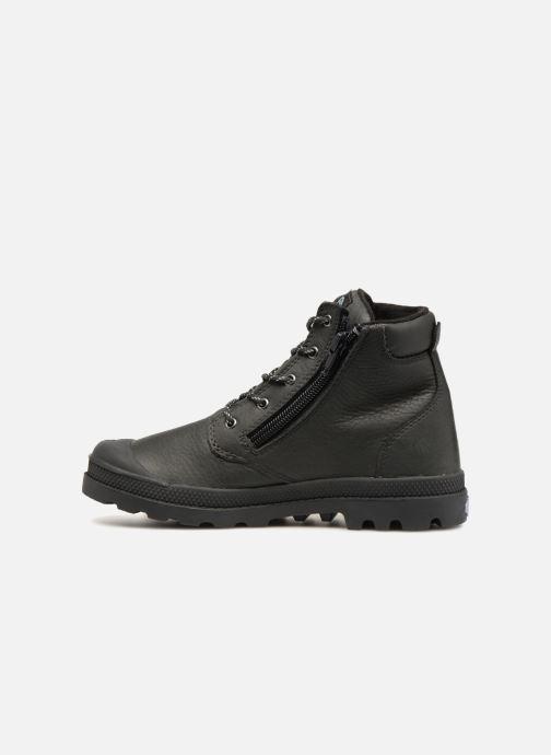 Bottines et boots Palladium Hi Cuff Wp K Noir vue face