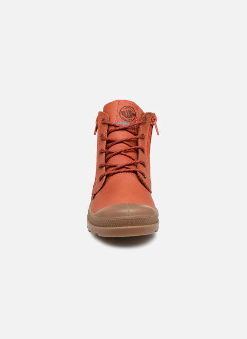 Ankle boots Palladium Hi Cuff Wp K Orange model view