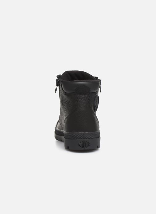 Ankle boots Palladium Hi Cuff Wp K Black view from the right