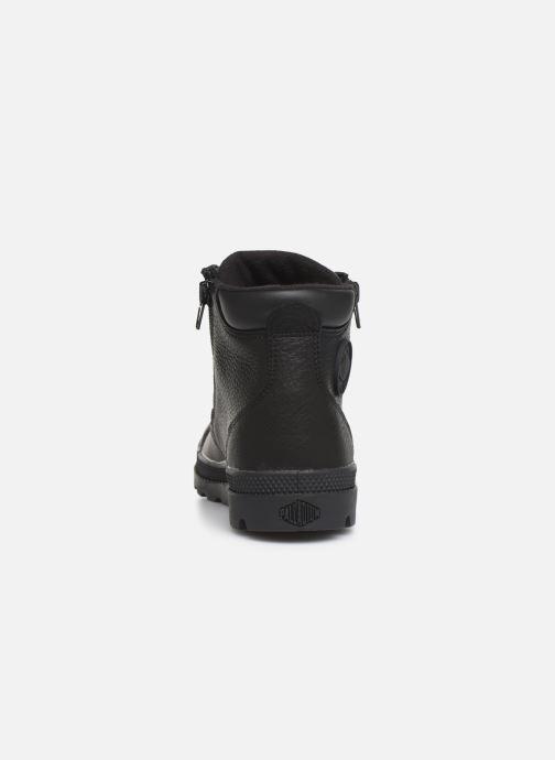 Bottines et boots Palladium Hi Cuff Wp K Noir vue droite