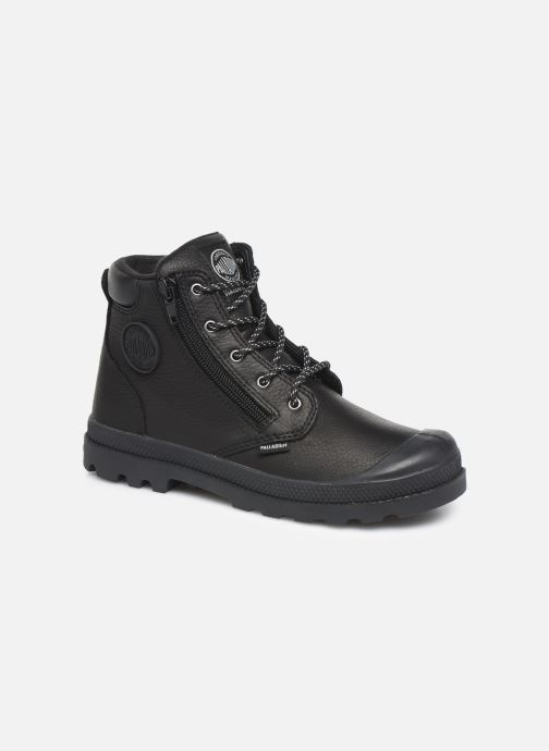 Ankle boots Palladium Hi Cuff Wp K Black detailed view/ Pair view