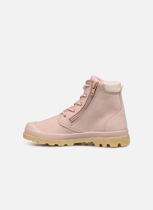 Bottines et boots Palladium Hi Cuff Wp K Beige vue face
