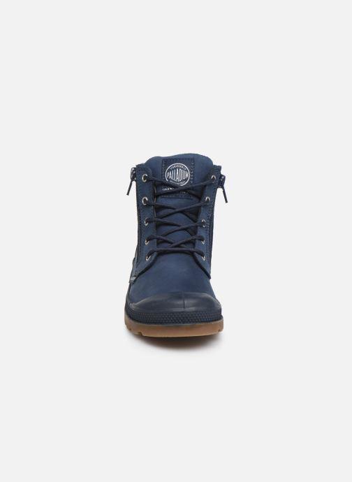 Ankle boots Palladium Hi Cuff Wp K Blue model view