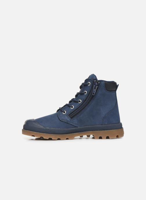 Ankle boots Palladium Hi Cuff Wp K Blue front view