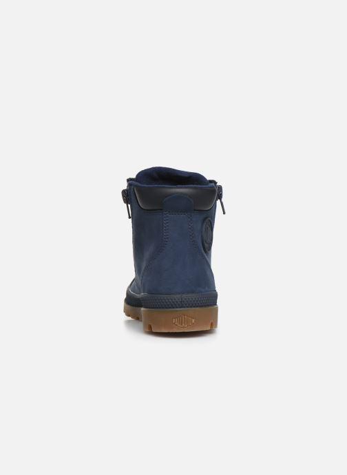 Stiefeletten & Boots Palladium Hi Cuff Wp K blau ansicht von rechts