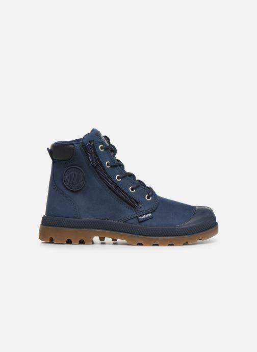 Ankle boots Palladium Hi Cuff Wp K Blue back view