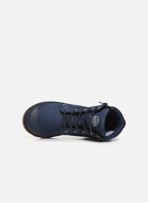 Stiefeletten & Boots Palladium Hi Cuff Wp K blau ansicht von links