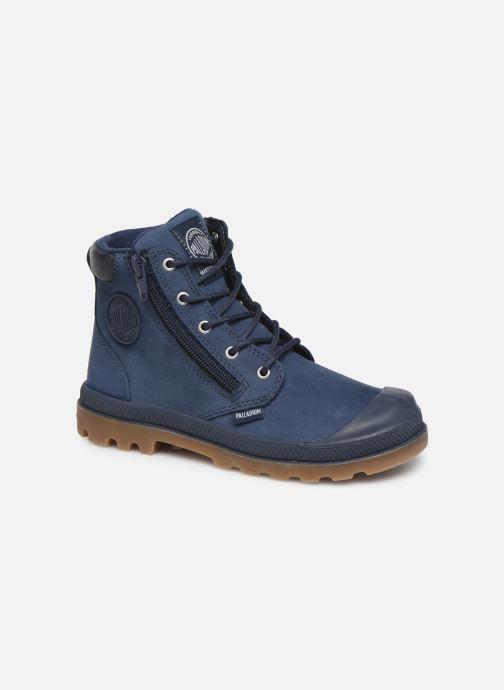 Ankle boots Palladium Hi Cuff Wp K Blue detailed view/ Pair view