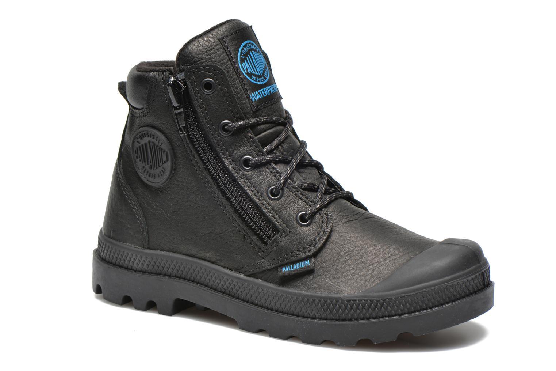 Ankle boots Palladium Hi Cuff Wp K Black detailed view/ Pair view