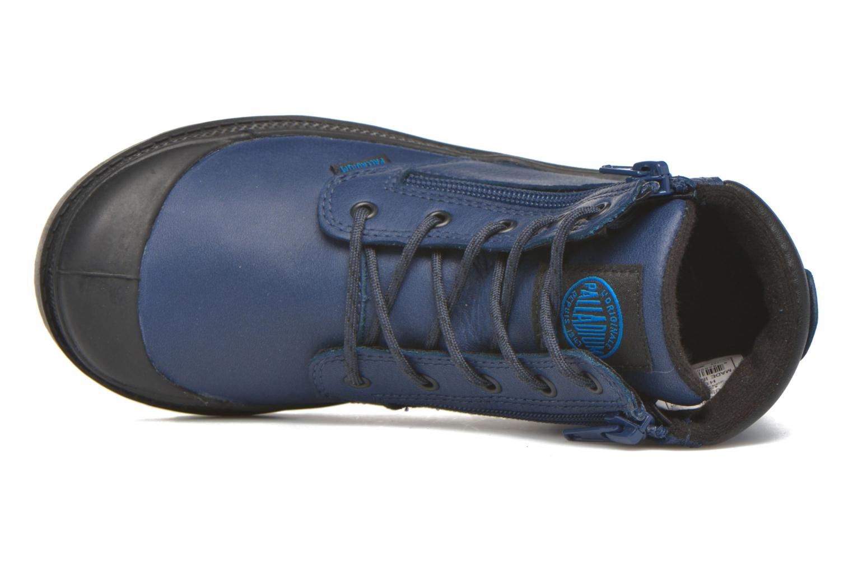 Bottines et boots Palladium Hi Cuff Wp K Noir vue gauche