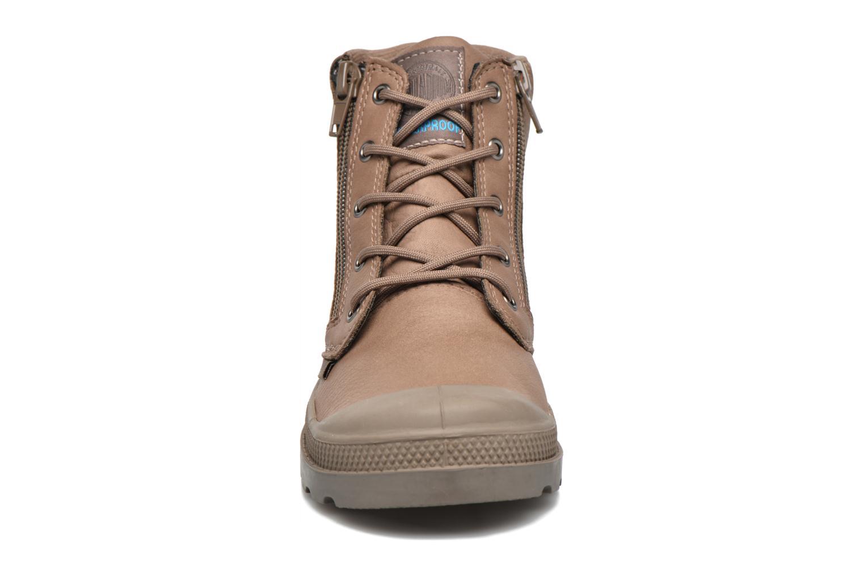 Ankle boots Palladium Hi Cuff Wp K Brown model view