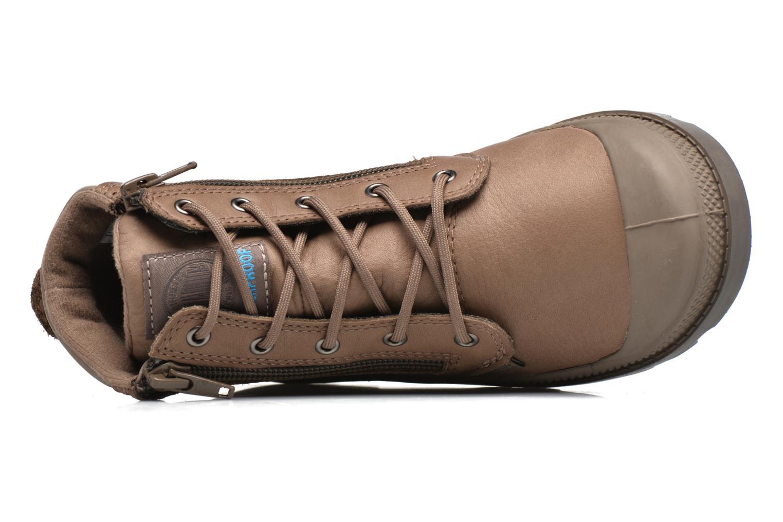 Stiefeletten & Boots Palladium Hi Cuff Wp K braun ansicht von links