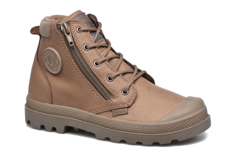 Stiefeletten & Boots Palladium Hi Cuff Wp K braun detaillierte ansicht/modell