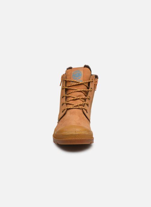 Ankle boots Palladium Hi Cuff Wps K Beige model view