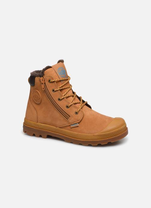 Ankle boots Palladium Hi Cuff Wps K Beige detailed view/ Pair view