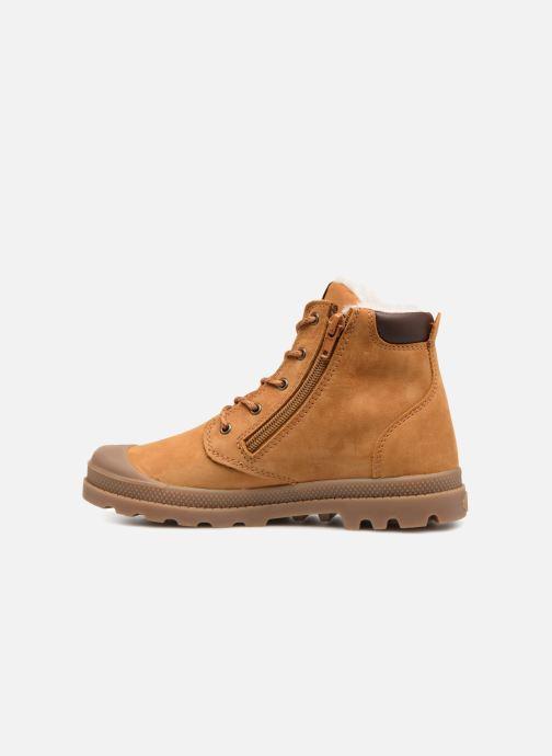 Bottines et boots Palladium Hi Cuff Wps K Marron vue face