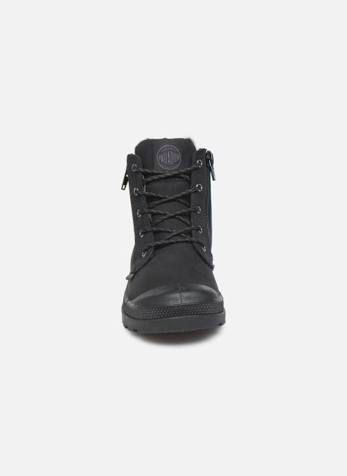Ankle boots Palladium Hi Cuff Wps K Black model view
