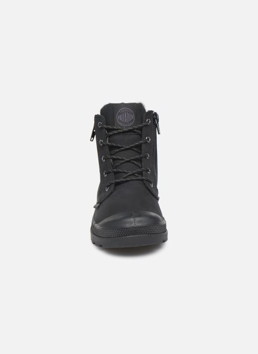 Bottines et boots Palladium Hi Cuff Wps K Noir vue portées chaussures