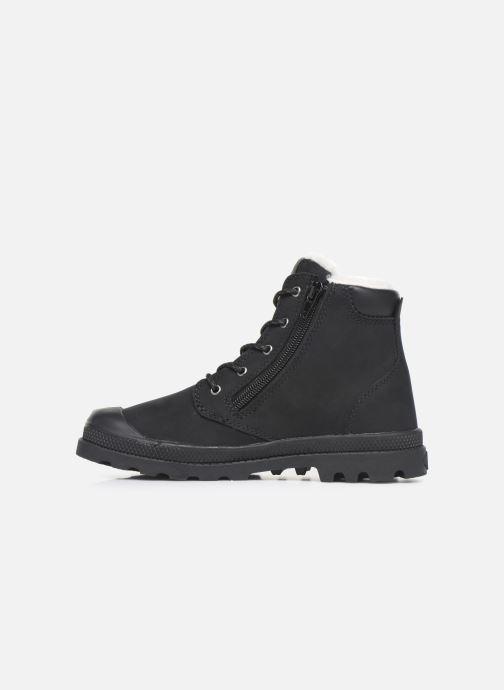 Bottines et boots Palladium Hi Cuff Wps K Noir vue face