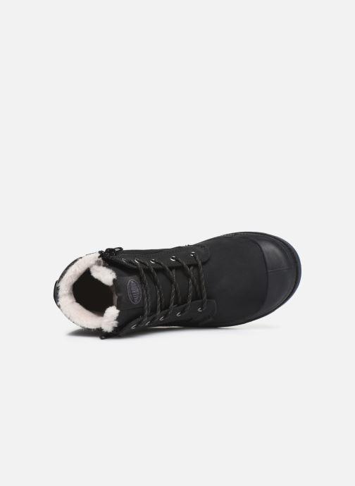 Bottines et boots Palladium Hi Cuff Wps K Noir vue gauche