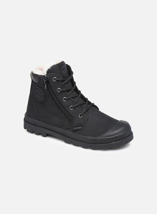 Bottines et boots Palladium Hi Cuff Wps K Noir vue détail/paire