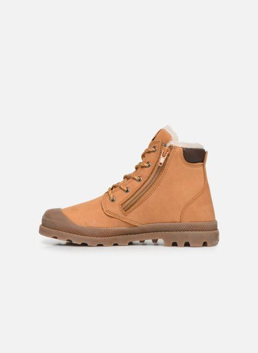 Boots en enkellaarsjes Palladium Hi Cuff Wps K Bruin voorkant