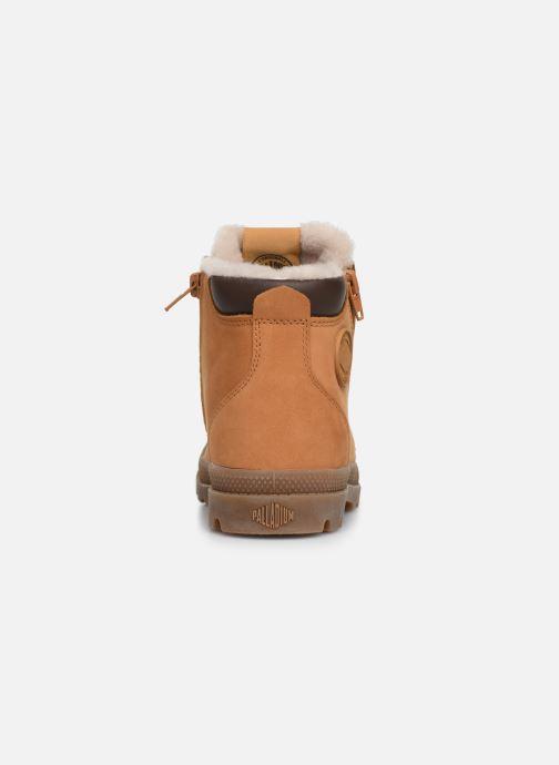 Boots en enkellaarsjes Palladium Hi Cuff Wps K Bruin rechts