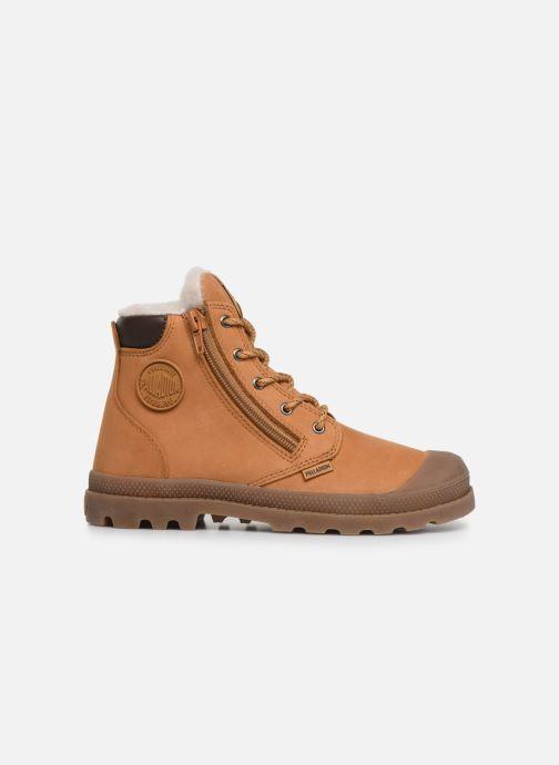 Boots en enkellaarsjes Palladium Hi Cuff Wps K Bruin achterkant