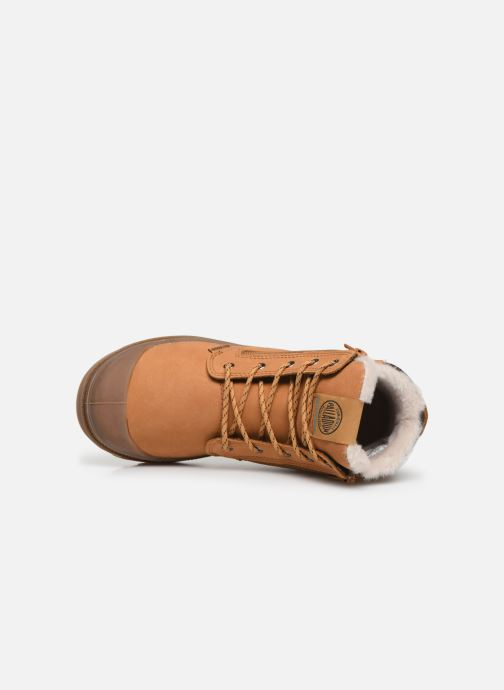 Boots en enkellaarsjes Palladium Hi Cuff Wps K Bruin links
