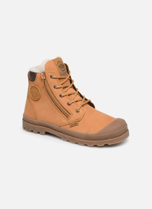 Bottines et boots Palladium Hi Cuff Wps K Marron vue détail/paire