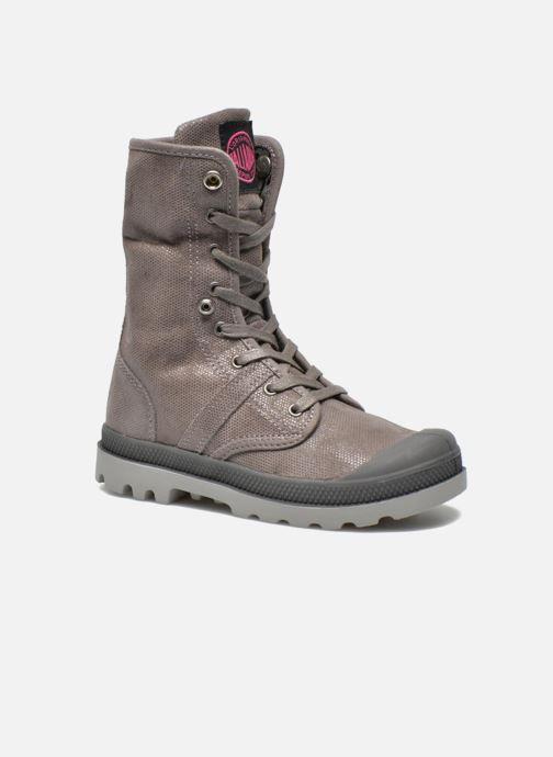 Boots en enkellaarsjes Palladium Baggy Fl K Grijs 3/4'