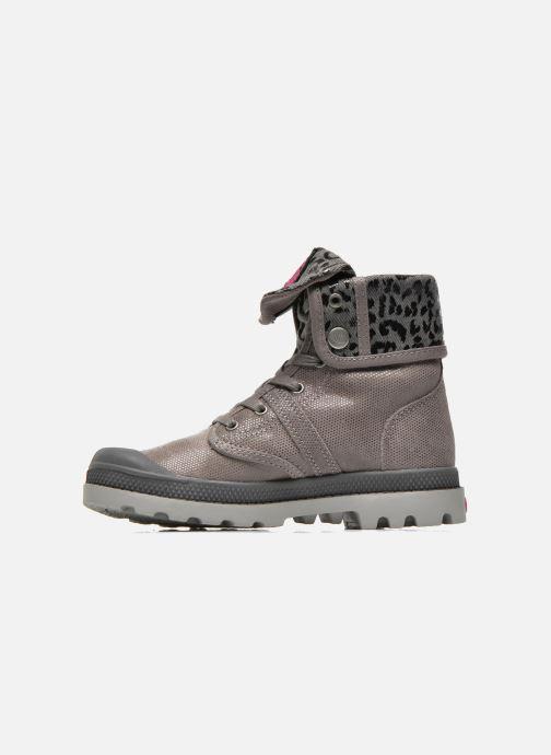Boots en enkellaarsjes Palladium Baggy Fl K Grijs voorkant