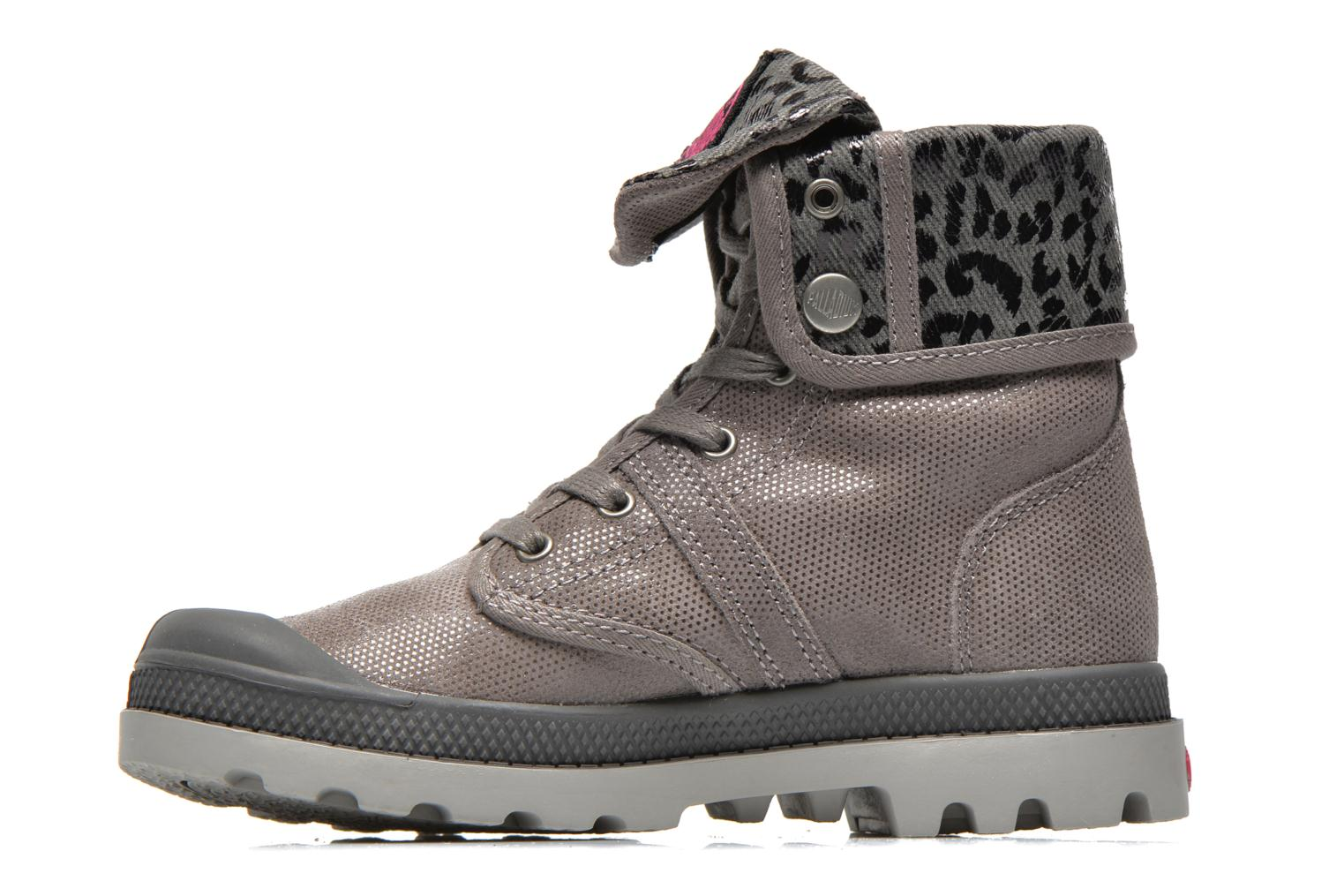 Bottines et boots Palladium Baggy Fl K Gris vue face