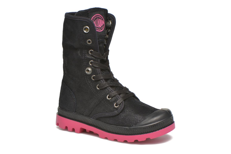 Bottines et boots Palladium Baggy Fl K Noir vue 3/4