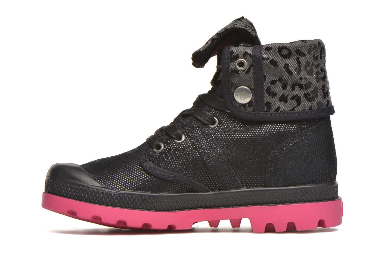 Bottines et boots Palladium Baggy Fl K Noir vue face