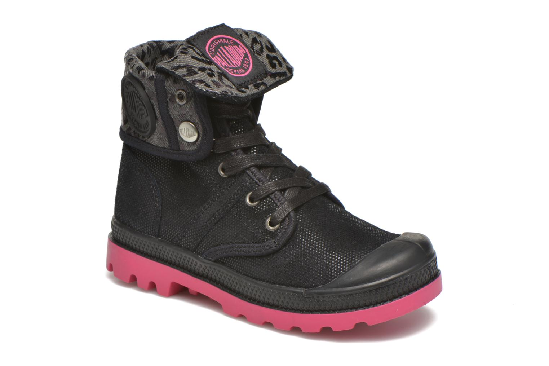 Bottines et boots Palladium Baggy Fl K Noir vue détail/paire