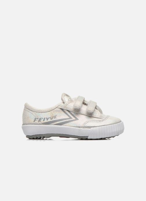 Trainers Feiyue Fe Lo Glitter Easy Silver back view