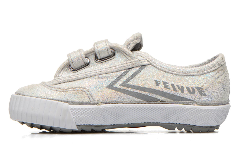 Sneakers Feiyue Fe Lo Glitter Easy Argento immagine frontale