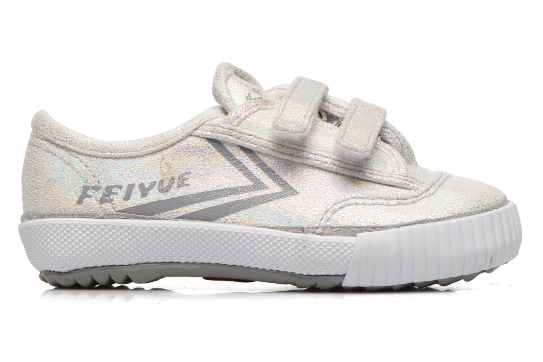 Sneakers Feiyue Fe Lo Glitter Easy Argento immagine posteriore