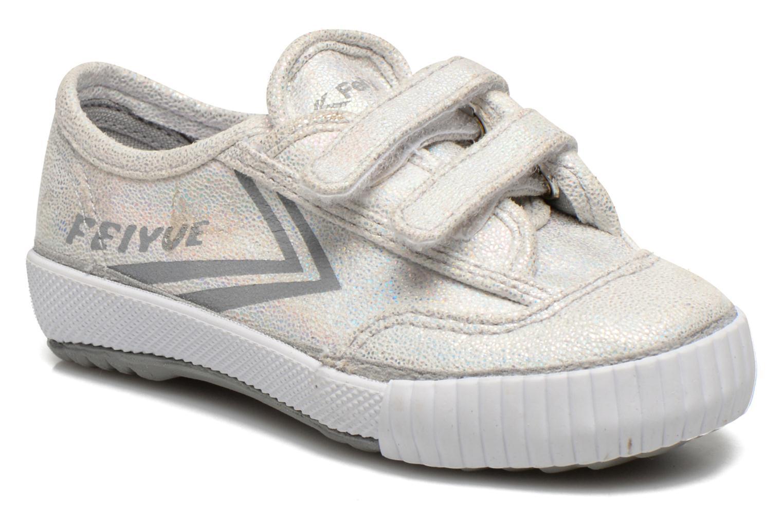 Sneakers Feiyue Fe Lo Glitter Easy Argento vedi dettaglio/paio
