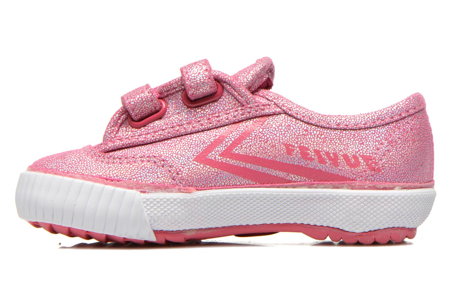 Trainers Feiyue Fe Lo Glitter Easy Pink front view