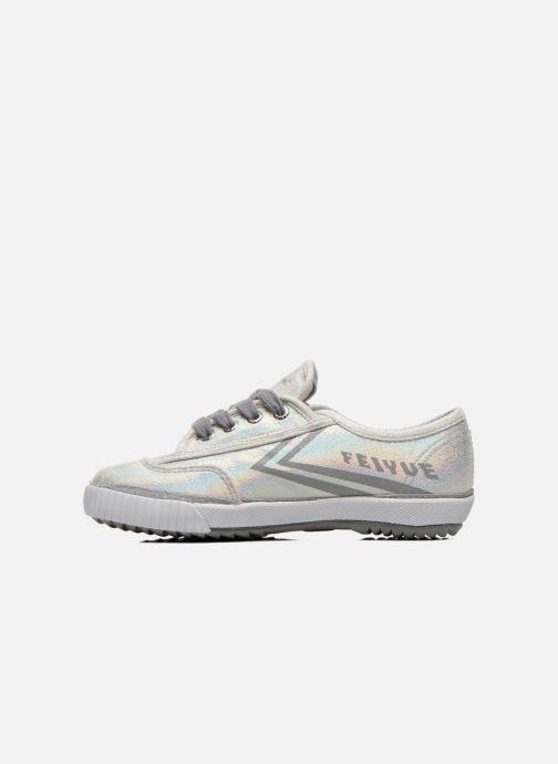 Sneakers Feiyue Fe Lo Glitter Zilver voorkant