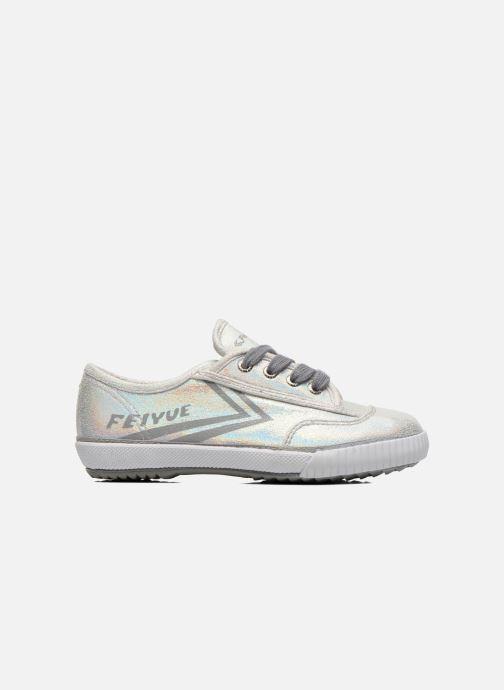 Sneakers Feiyue Fe Lo Glitter Zilver achterkant