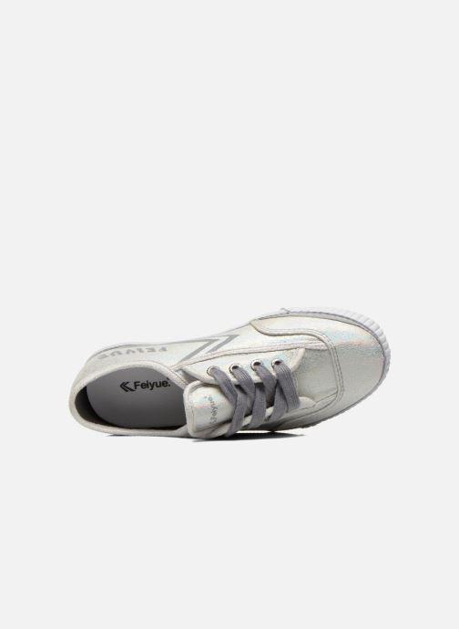 Sneakers Feiyue Fe Lo Glitter Argento immagine sinistra