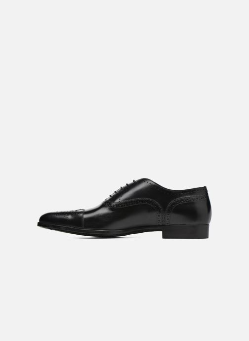 Lace-up shoes Santoni William 14431 Black front view